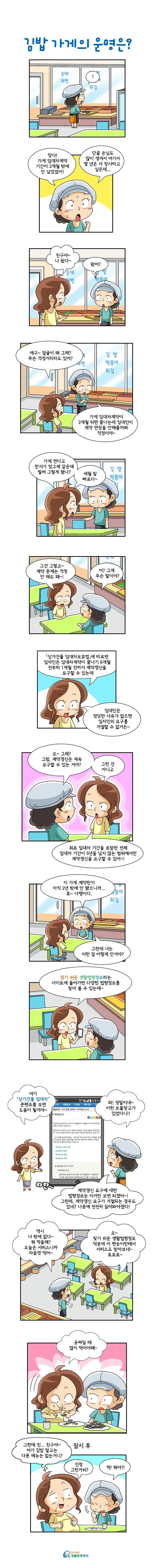 <제36화> 김밥 가게의 운명은?