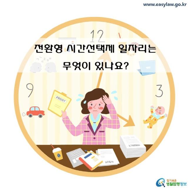 전환형 시간선택제 일자리는 무엇이 있나요?