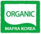 농림축산식품부의 유기가공식품 인증표시 영어버전
